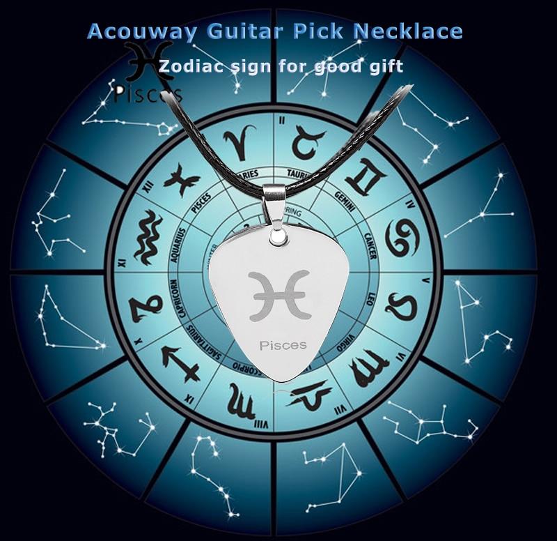 12PCS / Lot-Acouway Կենդանակերպի կիթառ ընտրել - Երաժշտական գործիքներ - Լուսանկար 1