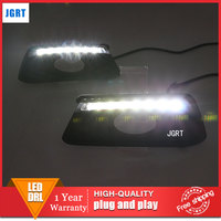 car styling For Honda mobilio LED DRL For mobilio led fog lamps daytime running light High brightness guide LED DRL