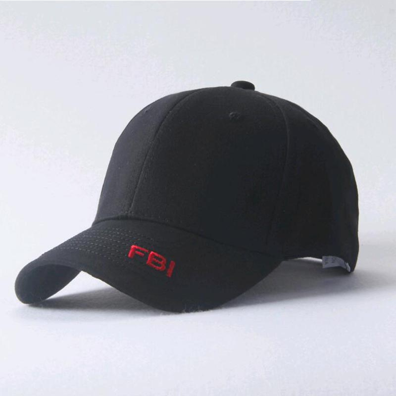 2018 spring summer Letter Embroidery FBI Baseball Cap For men women Casual Snapback hat boy girls Gorras Dad Hat casquette bone gold embroidery crown baseball cap women summer cap snapback caps for women men lady s cotton hat bone summer ht51193 35