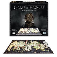 Game of Thrones,3D model puzzles & magic cubes hama perler beads jigsaw kids games pegboard stadium woodcraft wooden maze