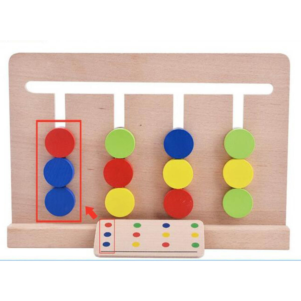 Early Learning Education Math Toys Wooden Boys Girls Kids Numbers Interactive Board Children Montessori Game Abacus Montessori