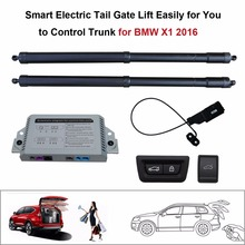 Smart Auto Electric Tail Gate Lift for BMW X1 2016 Control Set Height Avoid Pinch smart auto electric tail gate lift for hyundai ix35 control by remote drive seat tail gate button set height avoid pinch