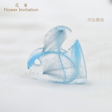 Flower Invitation Small Pendent Mold MD1361-1376 DIY Handmade Mold Jewelry Tools AB glue 2017 New Arrivals