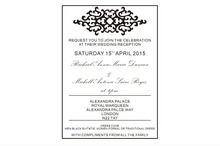 Customized 5 7inch clear acrylic wedding invitation card with rhinestones