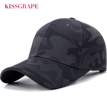 New Men Cotton Hats Baseball Caps 2019 Spring Camouflag Cap Outdoor Hiking Running Hat Adjustable Black