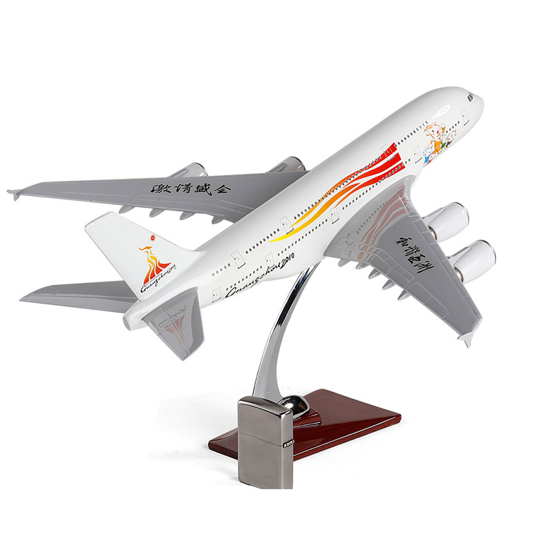 New 1:200 Airbus A380 Plane Model White Airplane Model For Baby Gifts Original Box 36cm a380 resin airplane model united arab emirates airlines airbus model emirates airways plane model uae a380 aviation model