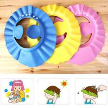 Baby Kid Toddlers Hair Wash Hat Shampoo Bath Bathing Shower Shield Guard Baby Shield Ear Protection Cap baby shower baby bath(China)