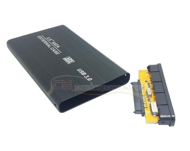 "2.5 ""USB 3.0 HDD Case Hard Drive Enclosure Box SATA Externo Novo atacado"