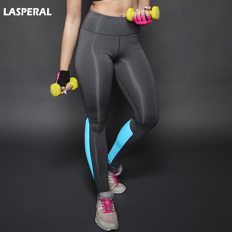 LASPERAL 1PCS Women Sports Running font b Yoga b font Long Pants High Waist Push Up