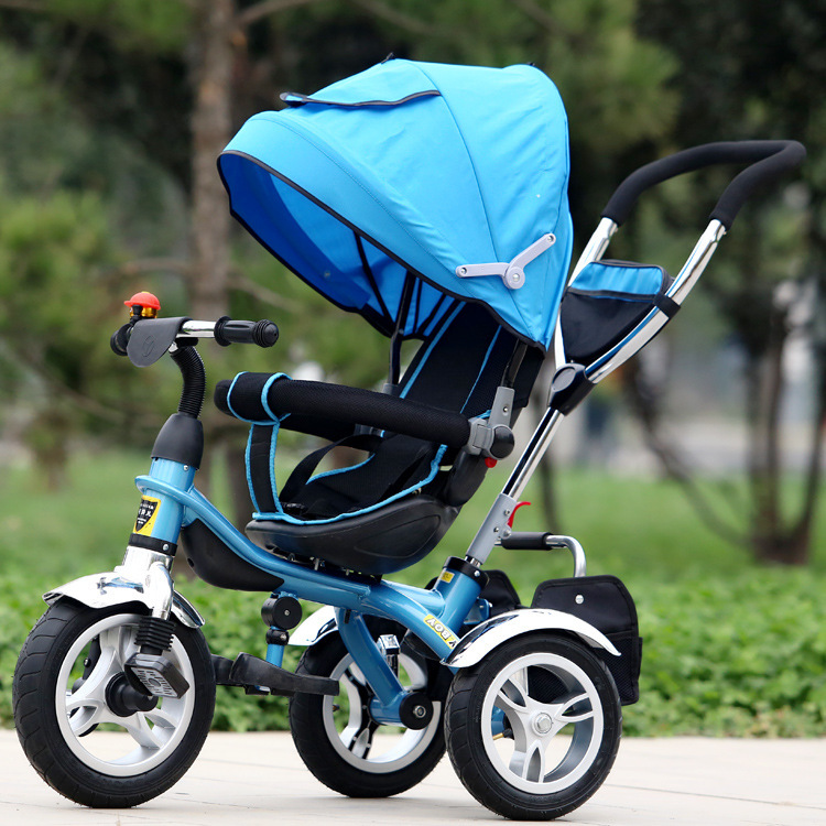 Children's Tricycle 3 Wheel Bicycle Baby Pram Seat 360 Degree Rotation Strollers for Kids Push Trolley Baby Bike 1-6Y