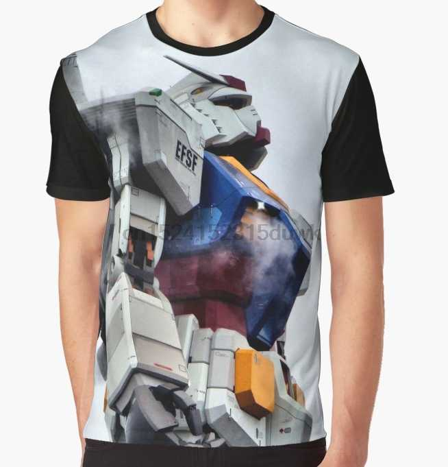 All Over Print T-Shirt Men Funy tshirt Gundam Pride Short Sleeve O-Neck Graphic Tops Tee women t shirt