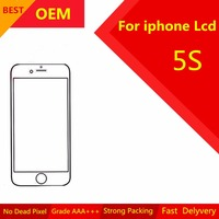 1 PCS OEM AAA Quality LCD Display For Apple IPhone 5S Touch Screen Digitizer Assembly Remplacement