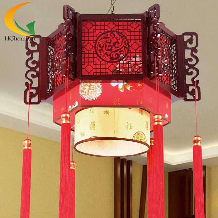 acquista all'ingrosso online legno lampadario illuminazione da ... - Illuminazione Salotto Classico