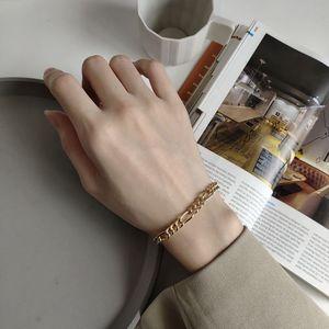 Image 5 - Silvology Bracelets en argent Sterling 925, chaîne brute, Texture, tempérament élégant, bijoux damitié coréens Bracelets pour femme
