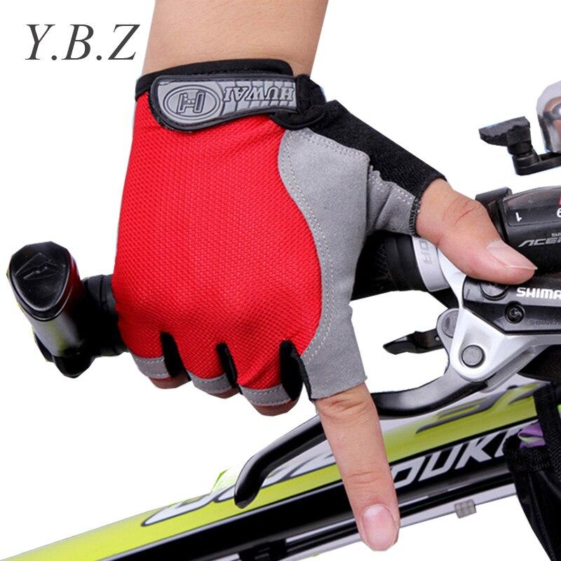 Long Keeper Fashion Riding Gloves Half-Ffinger Mittens Fingerless Men Women Glove Exercise Half Finger Luva Fitness Male Guantes