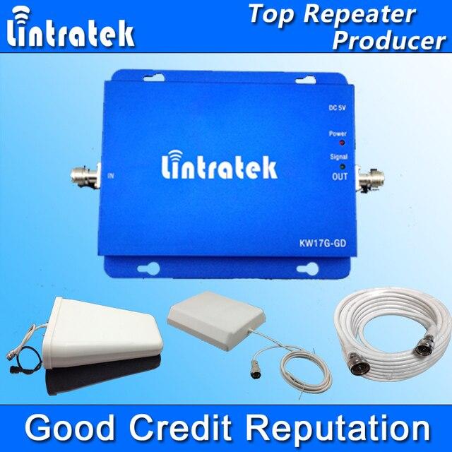 Lintratek GSM 900 DCS 1800 МГц МГц Dual Band Сигнал Повторителя GSM 900 1800 Сотовый Телефон Усилитель Сигнала Панельная Антенна Полный Комплект S31