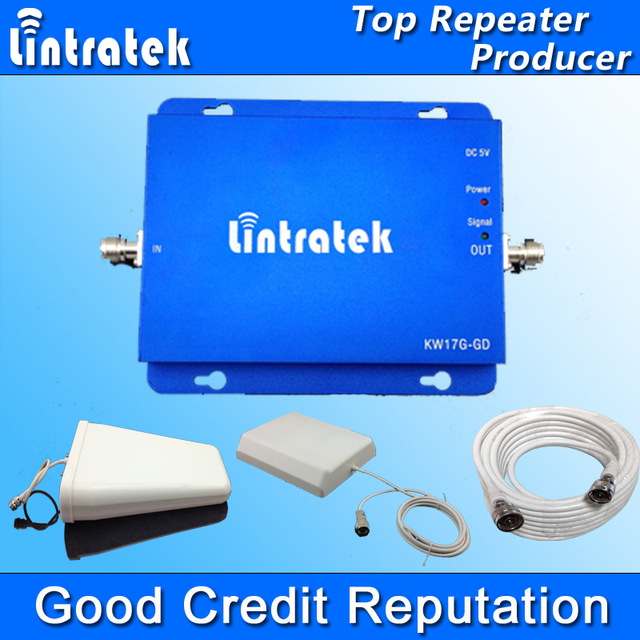 Lintratek GSM 900MHz DCS 1800MHz Dual Band Signal Repeater GSM 900 1800 Cell Phone Signal Booster Panel Antenna Full Kit S31
