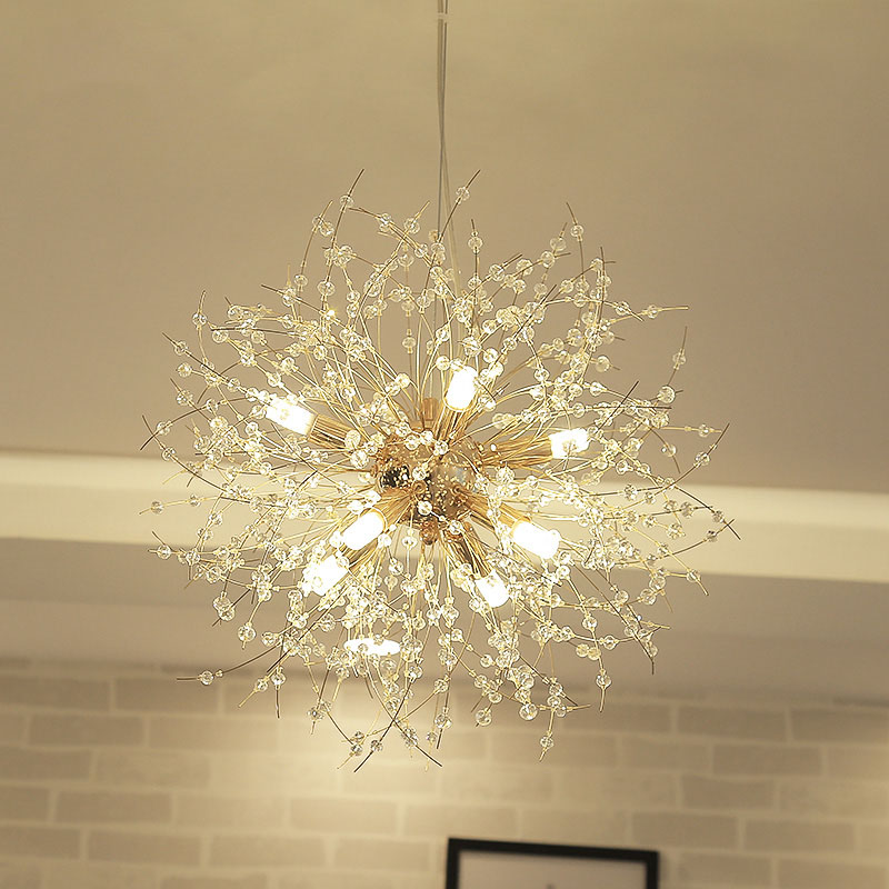 led chandelier Post-modern living room chandelier Creative Crystal Restaurant Lamp Art Bedroom led Chandelier abaju best price luxury crystal chandelier k9 crystal lamp living room bedroom modern restaurant round creative led lamps lighting