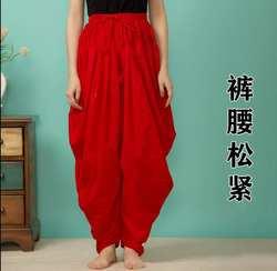 8 цветов индийские традиционные женские хлопковые брюки в этническом стиле весенне-летний свободный крой низ танцевальные брюки