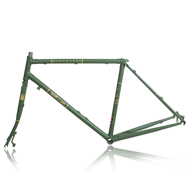Reynolds 525 Frame Chrome-molybdenum Steel Disc Frame Trekking Bike Road Bike Vintage Bike Frame Customize Frame  BIKE FORK