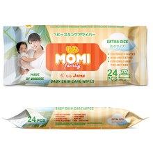 Family Extra SizeДетские влажные салфетки  MOMI  24 шт. (300х200mm)