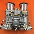FAJS marca TIPO 48 IDF WEBER 48IDF Carburador CARBY com Cromo buzinas de ar para VW/Volkswagen/Bug/besouro