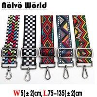 Max 135 5cm New Arrive Bohemian Colorful Women Handbag Strap Chic Ladies Shoulder Bag Belts Bags
