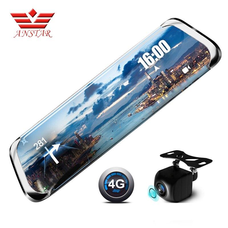 ANSTAR видеорегистратор Full HD 1920*1080P 4G камера заднего вида dvr 10 ips регистратор ADAS WiFi фотоаппарат регистратор автомобильный видеорегистратор с дв...