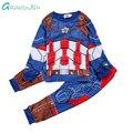 Grandwish Costume for Girls Toddler Boy Captain Sets Children's Character Pajamas Kids Tops+Pants Clothing Suit 24M-12T, SC751