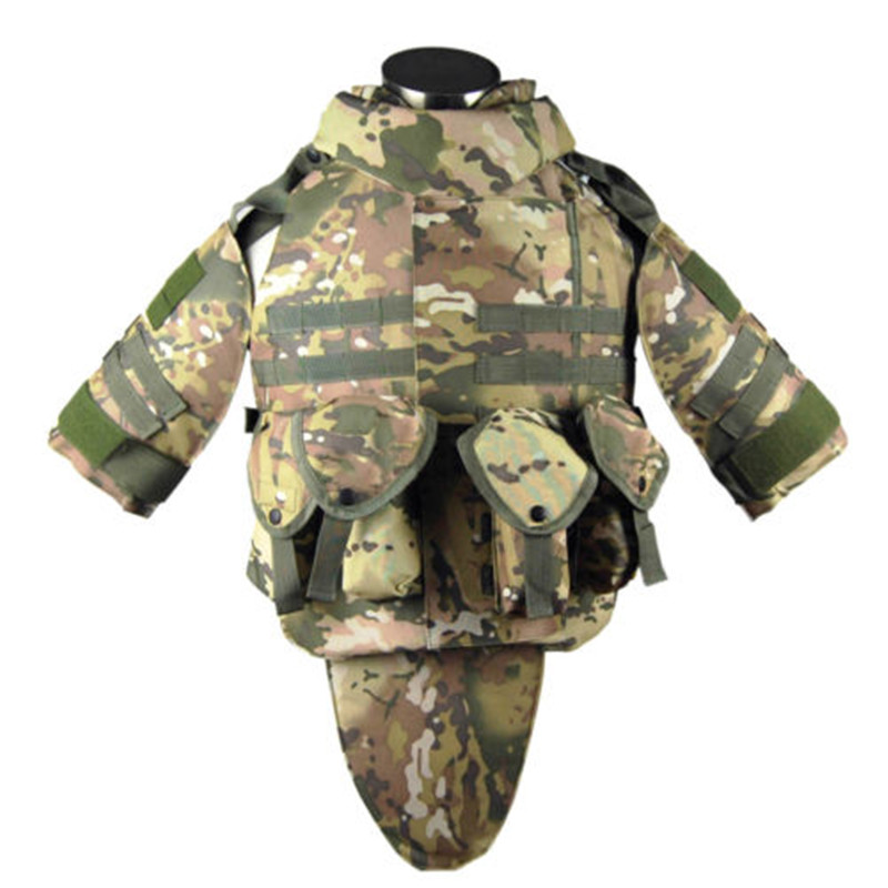 Military Police Security Safety Vests Interceptor OTV Combat Tactical Vest