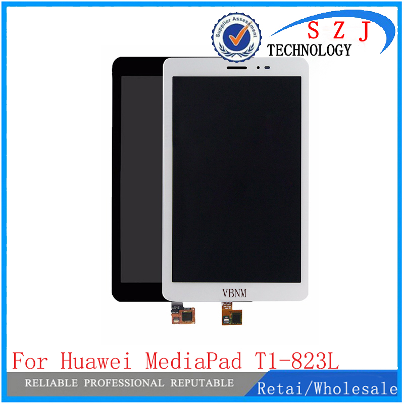 New 7.9 inch For Huawei MediaPad T1-823L T1-821W T1-821L T1-821 LCD Display + Touch Screen Digitizer Panel Sensor Replacement srjtek for huawei t1 821l t1 821w t1 823l new lcd display screen touch screen digitizer glass replacement