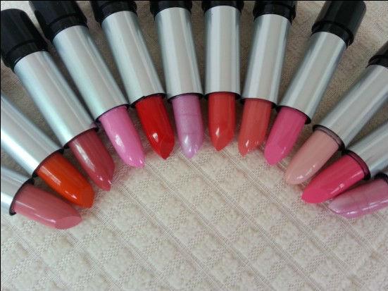 Free Shipping   12 colors New Lady Women Sexy Charming Cosmetic Makeup Moisture Beautiful Lipsticks