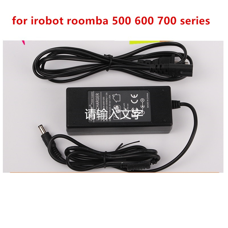 Power Adapter Charger for Irobot Roomba 500 600 700 Series 527 530 550 551 560 595 620 630 650 760 770 780 Vacuum Cleaner Parts комплектующие для пылесосов oem irobot roomba 500 600 700 760 560 585 595 650 770 780 550 790 for 700 series