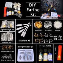 29pcs/lot diy earings findngs kits jewelry making fashion earing clips hook Womens Earrings Clothing