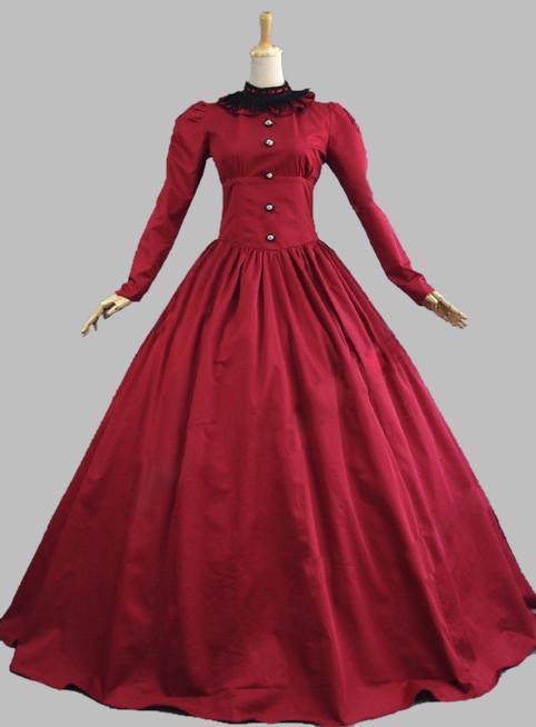 Period Dress Vintage Victorian 3