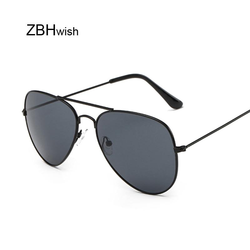 Vintage Pilot Sunglasses Women Shades Retro Classic Black Sun Glasses Female Luxury Brand Designer Oculos