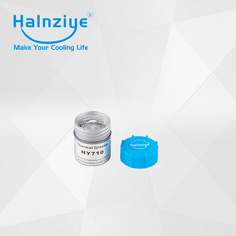 free shipping 10g can packing HY710 cup thermal paste waterproof thermal grease heatsink thermal compound