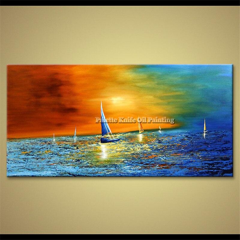 Canvas yağlı boya kaudros dekorasiyası Yaşayış otağı kvadrosu - Ev dekoru - Fotoqrafiya 3