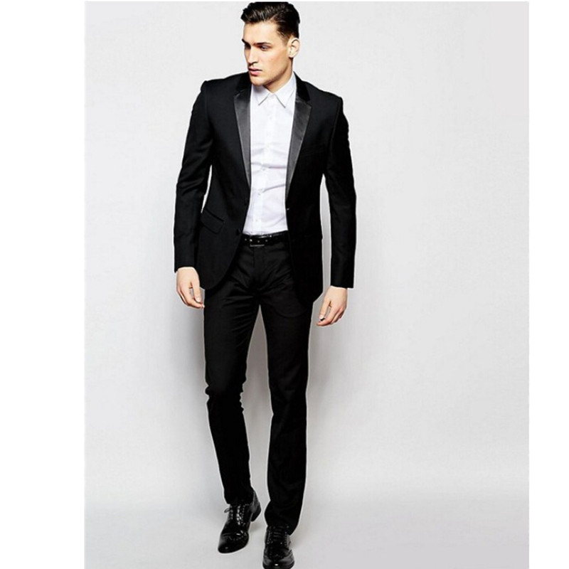 Haute couture men suits new design groom wedding suits tuxedos good quality formal business occasions suits(jacket+vest+pants)