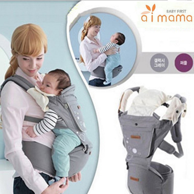 baby carrier manufacturers improved version carrier multifunctional baby stool waist strap shoulder cotton green version EPP