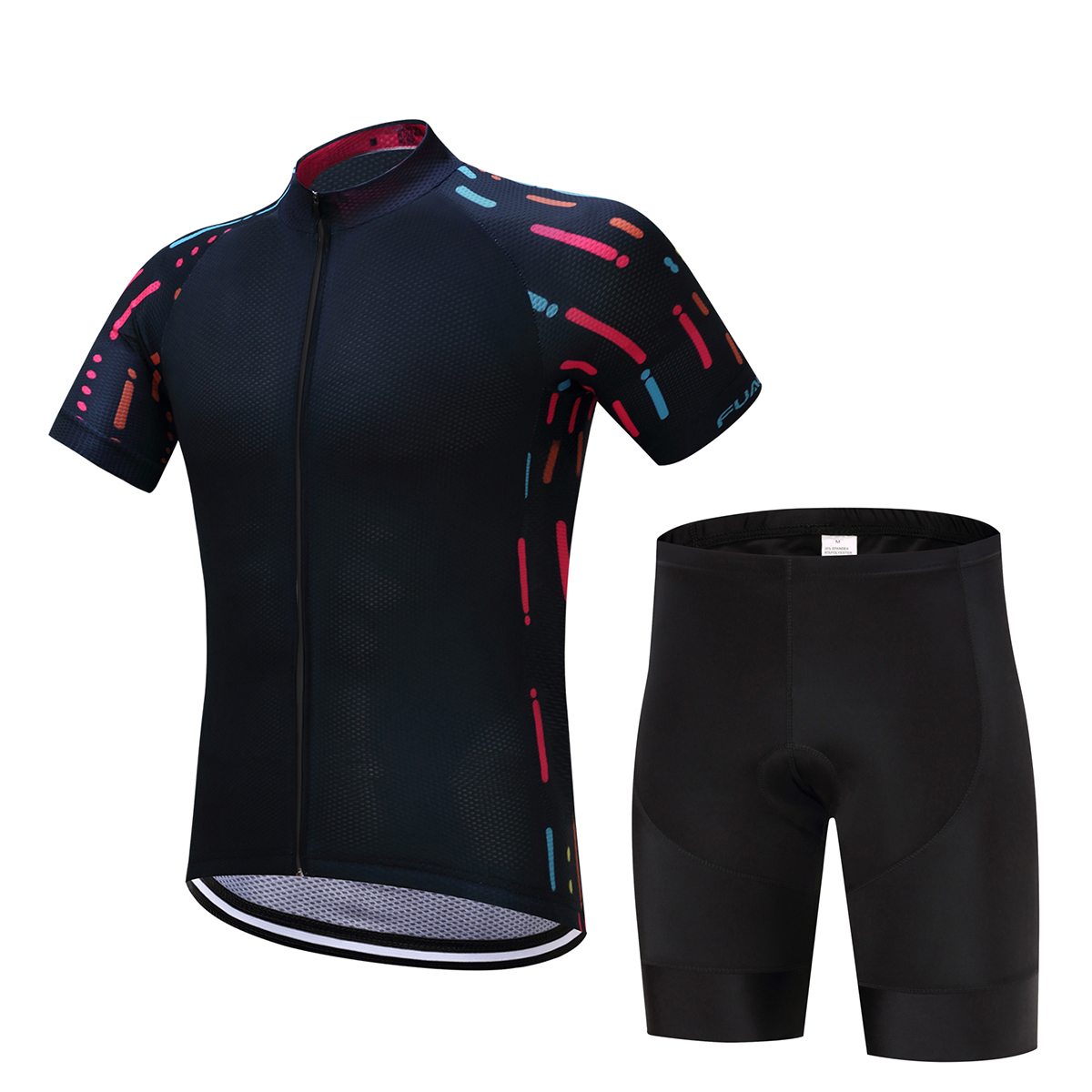 new FUALRNY Cycling Jersey Sets China 2017 Bicycle Salopette Mountain Velo Maillot Ciclismo Italie Cuissard Cycliste Equipe