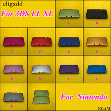 cltgxdd 1PCS Muti-Colors Aluminium Protective Hard Shell Skin Case Cover For Nintendo For 3DS LL XL цена