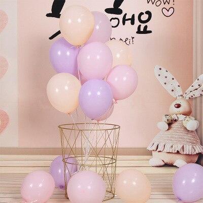 BTRUDI Einzigen schicht macaron ballon 10 zoll hochzeit meerjungfrau party Brithday dekoration party dekoration lieferungen geschlecht offenbaren