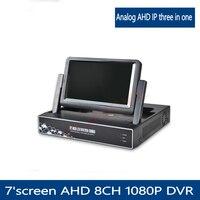 YUNSYE Free Shipping CCTV DVR 8 Channel 1080H Digital Video Recorder 8CH Hybrid DVR AHD NVR