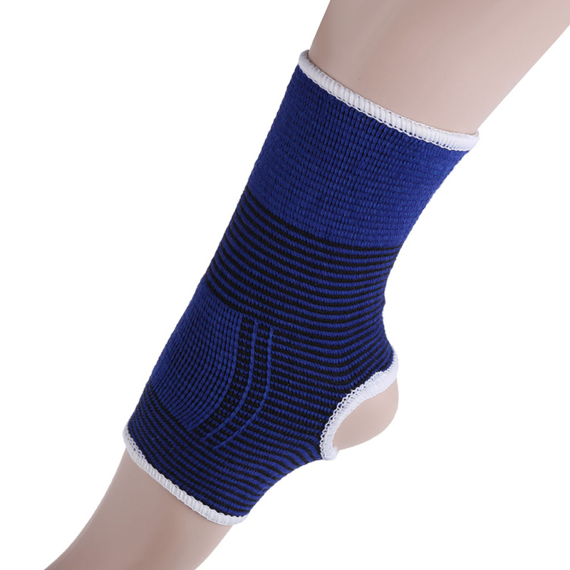 Professional Sports Safety Ankle Support Strong Ankle Bandage Elastic Brace Guard Support Sport Gym Foot Wrap Protection Pure White And Translucent Sports Safety