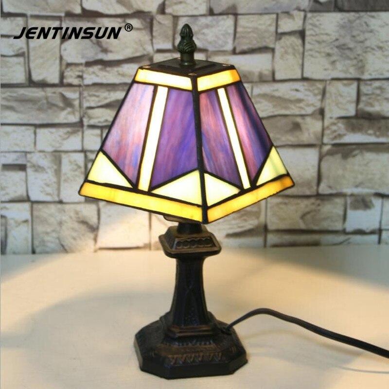 Nodic Retro Gekleurde Bloem Tafellamp Warm Wit Bureaulamp LED ...