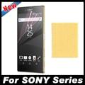 2 unids/lote claro transparente protector de pantalla hd película protectora para sony xperia z z1 z2 z3 z4 z5 compacto premium