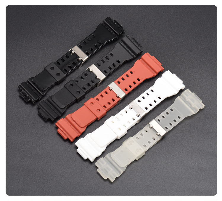Watchband 16mm For Casio G-shock Series Special Head For G-8900 GLS-8900 GR-8900 GW-8900 GD-100/110/120  450PCS цены онлайн