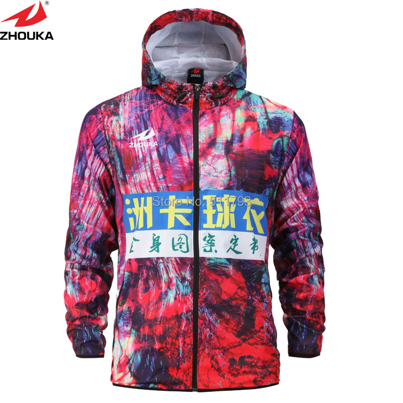 Personal Design Sublimation 3D Printing Custom Winter Windbreaker ...