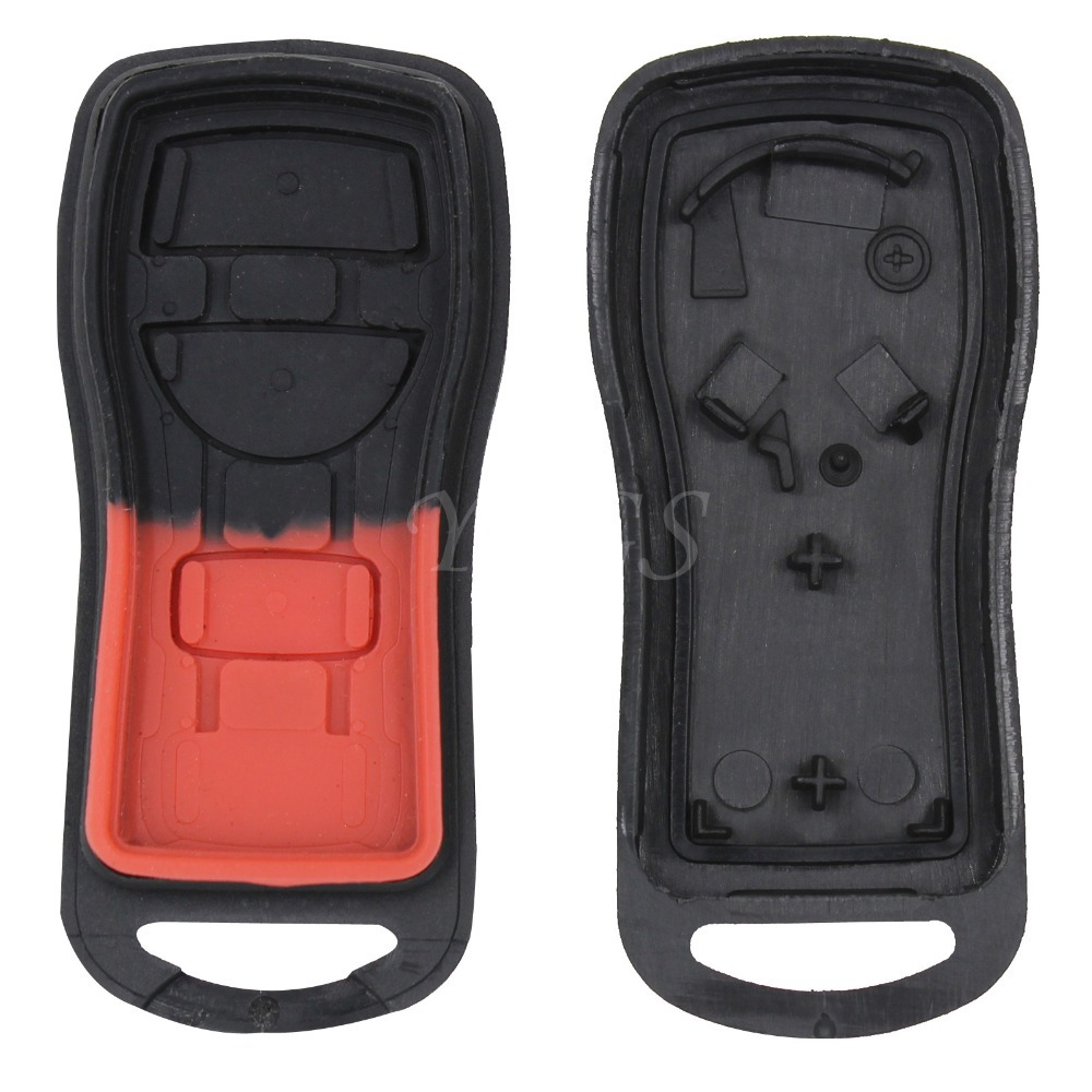 3 Button Remote Key Entry Fob Shell For Nissan Armada Xterra Pathfinder Frontier Quest Titan Murano No Chip Fob Case ASTU15